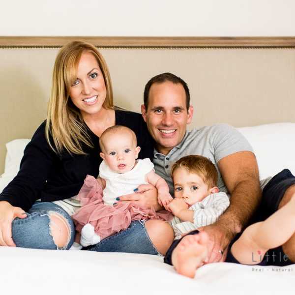 family photoshoot with Little Beanies Photography